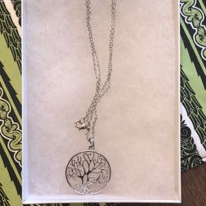 Belk Tree of Life Necklace Sterling Silver